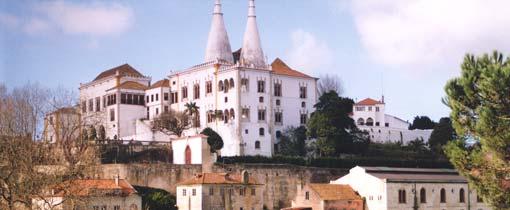Het Portugese koningsplaatsje Sintra staat ook op de UNESCO Werelderfgoedlijst