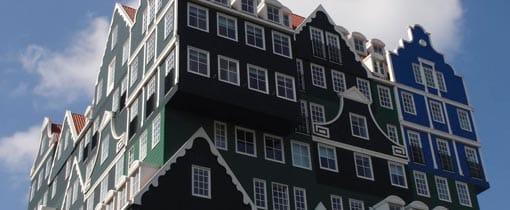 De beroemde Zaanse huisjes - nu als hotel