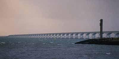 Zeelandbrug: Langste brug van Nederland