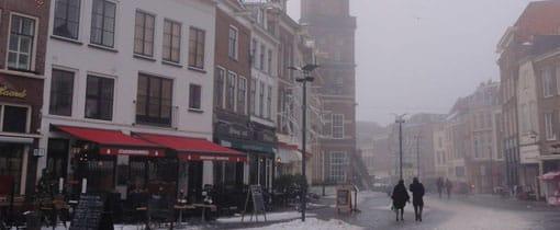 Een winterse dag in Zutphen